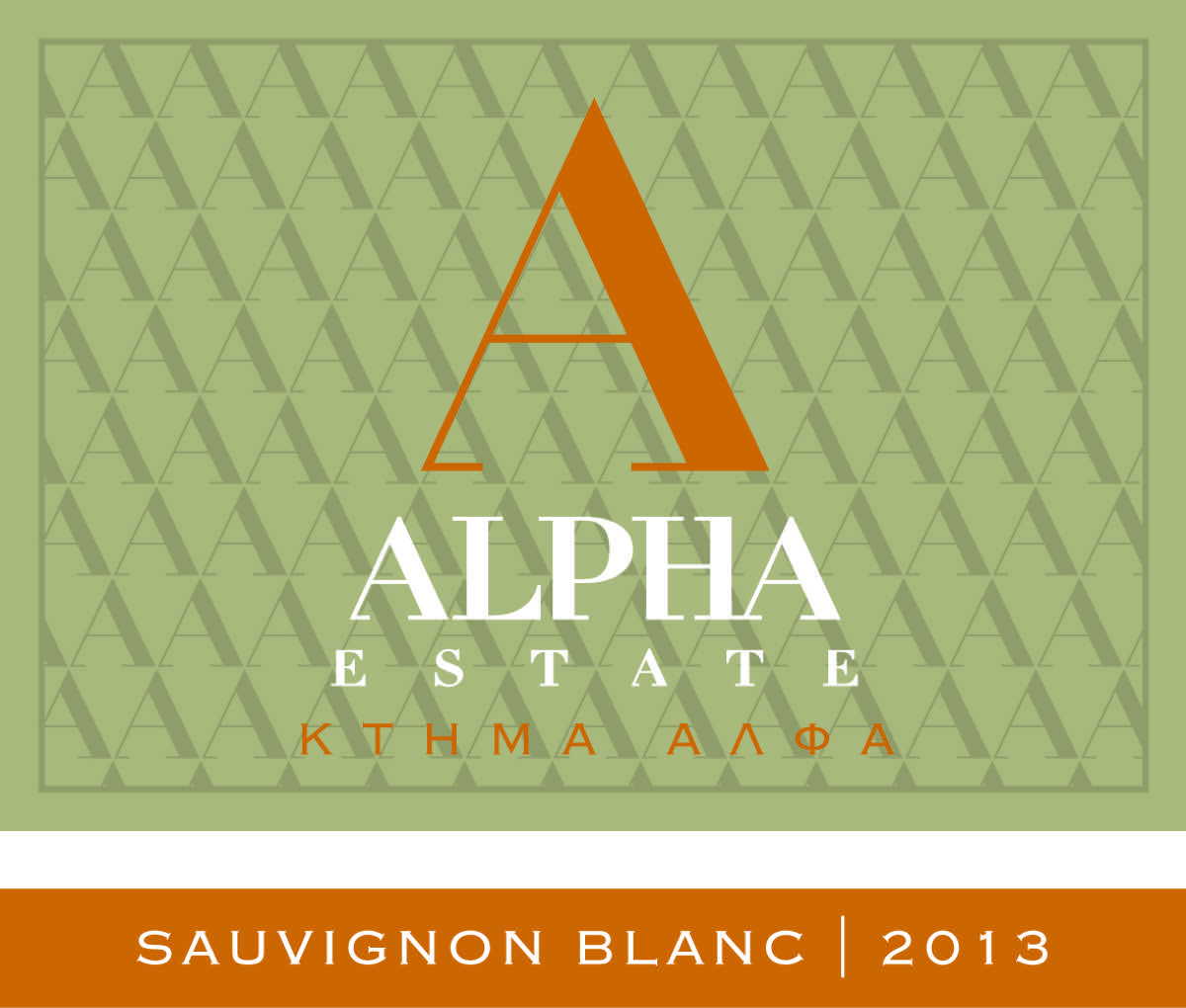 ALPHA ESTATE SAUVIGNON-2013-A