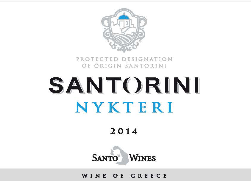label SANTO NYKTERI 2014