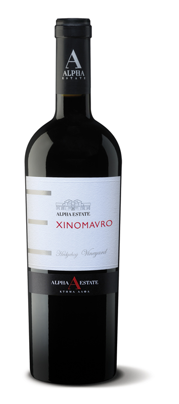ALPHA XINOMAVRO SINGLE VINEYARD HEDGEHOG 2007 bottle