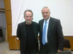 Chairman of EDOAO Markos Kafouros & Vice-Chairman Angelos Rouvalis