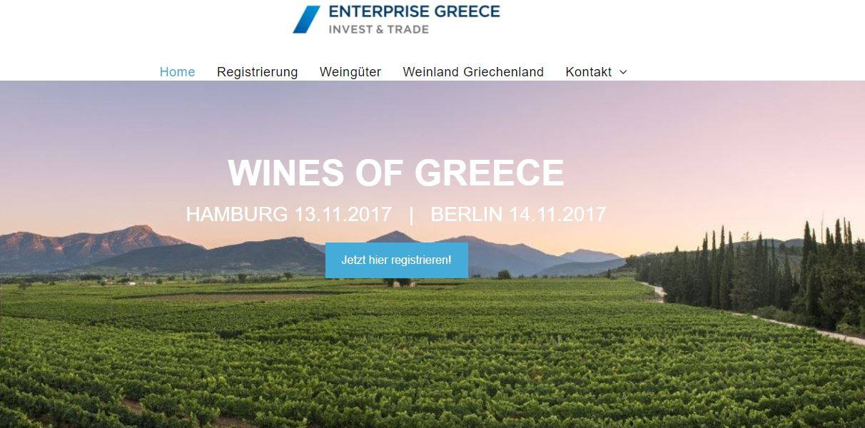 Wines of Greece activities in Germany