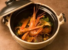 Spicy Shellfish Yiouvetsi