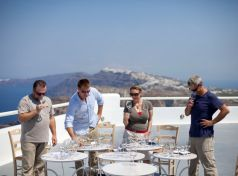 "The leading Santorini wines are a ""must"" for every wine lover, either on the island or a"